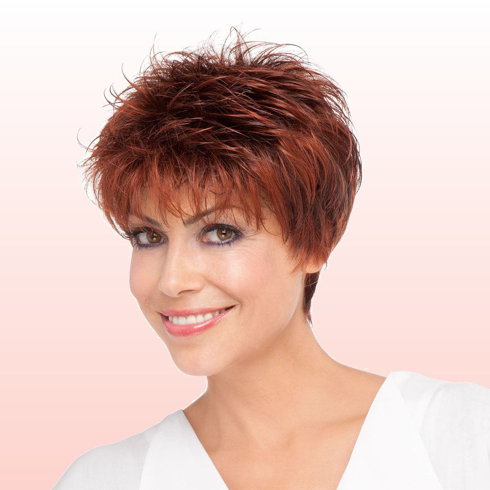 ... amber Short Is Chic With These 33 Short Hairstyles For Older Women