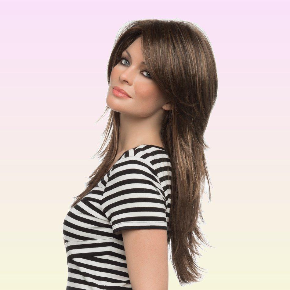 Стрижка на длинный волос с короткой макушкой Стильные короткие стрижки - урок деления волос