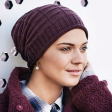 Dagny V Knitted Hat- 1289