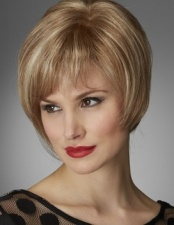 Refined Mono Top Wig in Dark Chocolate Mix (Sale Item)