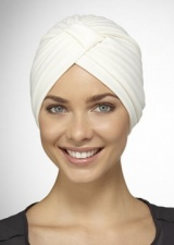 Poly Pleated Turban