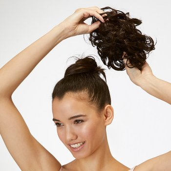 Messy Top Knot Hairpiece