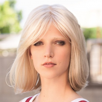 Long Page Mono Lace deluxe Wig