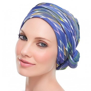 The Softie Wrap Printed Headwear  SOWP