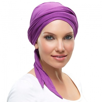 The Softie Wrap Solid Headwear  SOW
