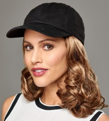 Curly Hat Black