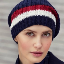 Ebba V Knitted Hat Headwear
