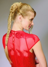 Fishtail Braid Hairpiece